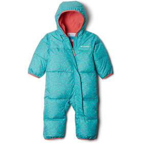 Columbia Snuggly Bunny Bunting Overall Baby, geyser sparkler/wild salmon